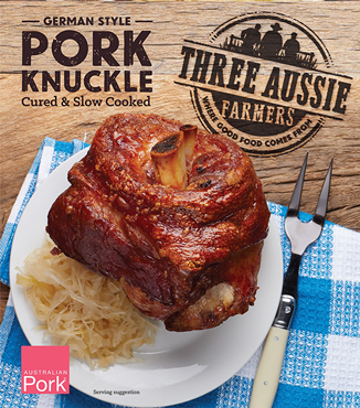 Three Aussie Farmers Slow Cooked German Knuckle