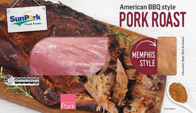 American BBQ Pork Roast – Memphis Style