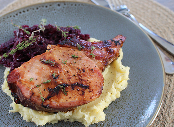 Barkers Creek Smoked Pork Cutlet