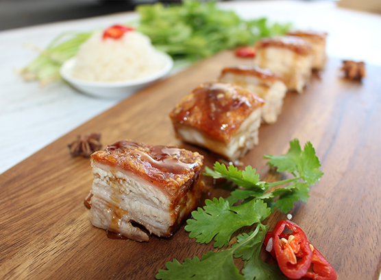 Barkers Creek Slow Cooked Pork Belly